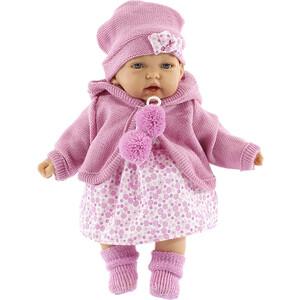 Кукла ANTONIO JUAN Азалия в ярко-розовом, со звуком, 27 см (1220C)