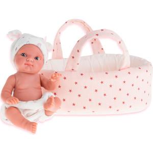 Кукла ANTONIO JUAN Пепита в белой корзине, 21см (3901P)