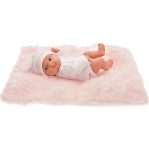 Кукла ANTONIO JUAN Пепита на розовом одеялке, 21 см (3903P)