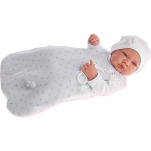 Кукла ANTONIO JUAN Младенец Кармело в голубом, 42 см (5001B)