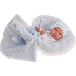 Кукла ANTONIO JUAN Младенец Эдуардо в голубом, 42 см (5005B)
