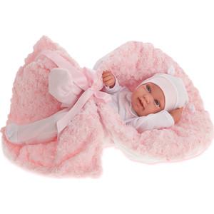 Кукла ANTONIO JUAN Младенец Эдуарда в розовом, 42 см (5006P)