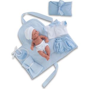 Кукла ANTONIO JUAN Младенец Карлос с пеленальным комплектом, 26см (4064B)