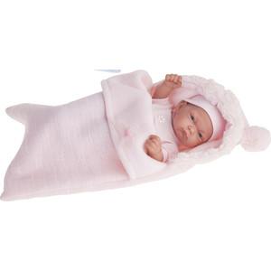 Кукла ANTONIO JUAN Младенец Карла в розовом конверте, 26 см (4066P)