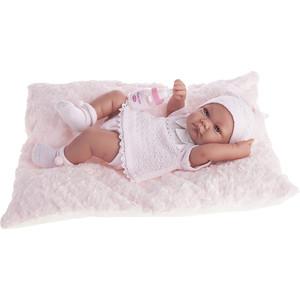 Кукла ANTONIO JUAN Младенец Ника в розовом, 42см (5054P)