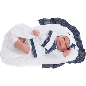 Кукла ANTONIO JUAN Рамон в синем, со звуком, 40см (3360B)