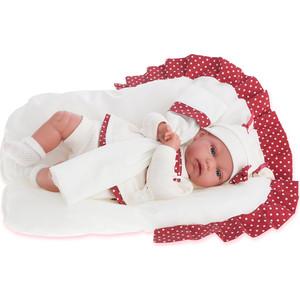 Кукла ANTONIO JUAN Молли в красном, со звуком, 34 см (7034R)