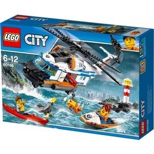 Конструктор Lego Город Сверхмощный спасательный вертолёт (60166)