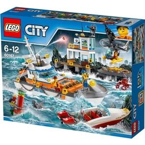 Конструктор Lego Город Штаб береговой охраны (60167)