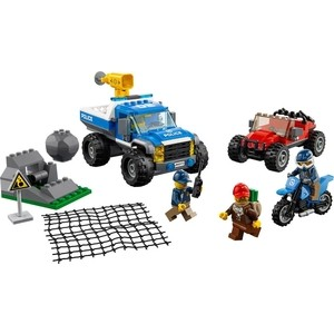Конструктор Lego Город Погоня по грунтовой дороге (60172)