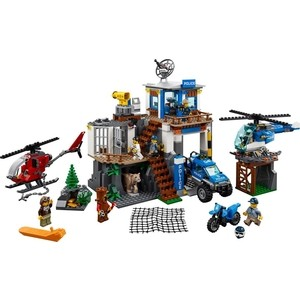 Конструктор Lego Город Полицейский участок в горах (60174)