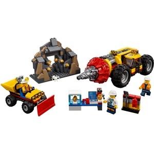 Конструктор Lego Город Тяжелый бур для горных работ (60186)