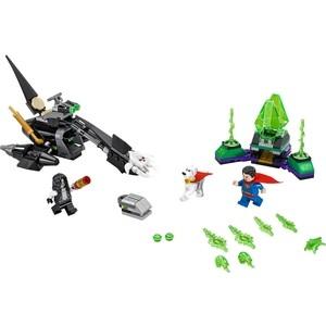 Конструктор Lego Супер Герои Супермен и Крипто объединяют усилия (76096)