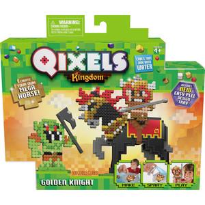Набор для творчества Qixels Королевство Золотой рыцарь (87130)