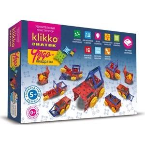 Конструктор ЗНАТОК Klikko Чудо квадраты 12 в 1 (38639)