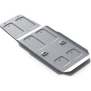 Купить Защита КПП Rival для Infiniti FX35 (2008-2010), FX37 (2010-2013), QX70 (2013-н.в.), алюминий 4 мм, 333.2402.1