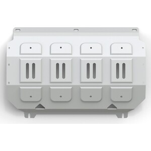 Купить Защита радиатора Rival для Mitsubishi L200 (2006-2015), Pajero Sport (2008-2016), алюминий 4 мм, 333.4005.1