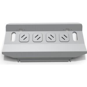 Купить Защита радиатора Rival для Mitsubishi Pajero IV (2006-2011 / 2011-н.в.)., алюминий 4 мм, 333.4012.1