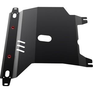 Купить Защита картера и КПП АвтоБРОНЯ для Chevrolet Lanos АКПП (2005-2009) / ZAZ Chance АКПП (2005-н.в.), сталь 2 мм, 111.06501.1