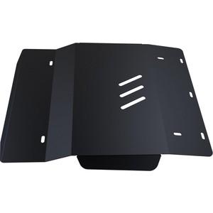 Купить Защита картера АвтоБРОНЯ для Chevrolet Tracker МКПП (1998-2004) / Suzuki Grand Vitara (1997-2004), сталь 2 мм, 111.01013.1