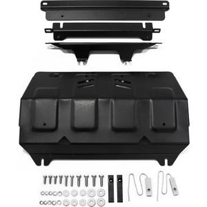 Купить Защита радиатора АвтоБРОНЯ для Fiat Fullback (2016-н.в.) / Mitsubishi L200 (2015-н.в.), Pajero Sport (2016-н.в.), сталь 2 мм, 111.04046.1
