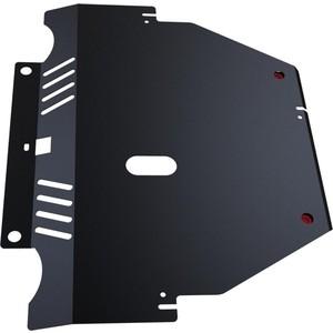 Купить Защита картера и КПП АвтоБРОНЯ для Ford Mondeo (2007-2010), S-Max (2006-2010), сталь 2 мм, 111.01808.1