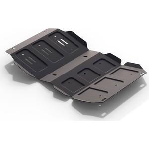 Купить Защита картера АвтоБРОНЯ для Great Wall Hover H3 (2006-2015), Hover H5 (2006-2015) / Isuzu Axiom (2001-2004), сталь 2 мм, 111.02007.1