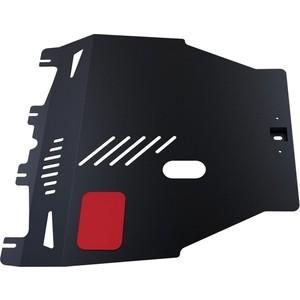 Купить Защита картера и КПП АвтоБРОНЯ для Honda Civic хэтчбек 5-дв. (2006-2012), сталь 2 мм, 111.02103.1