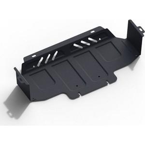 Купить Защита радиатора АвтоБРОНЯ для Kia Sorento (2006-2009), сталь 2 мм, 1.02807.1