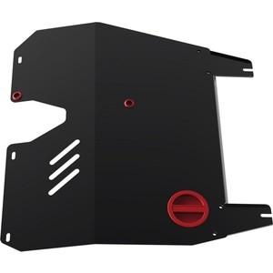 Купить Защита картера и КПП АвтоБРОНЯ для Mitsubishi Lancer (2003-2009), сталь 2 мм, 111.04002.3