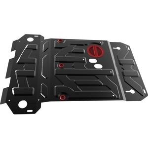 Купить Защита картера АвтоБРОНЯ для Suzuki Grand Vitara (2005-2012 / 2012-2015), сталь 2 мм, 111.05501.5