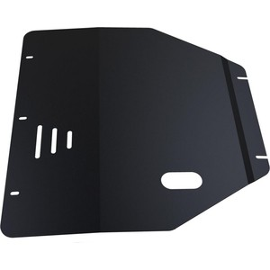 Купить Защита картера и КПП АвтоБРОНЯ для Suzuki Swift (2004-2011), сталь 2 мм, 111.05506.1