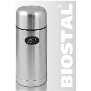 Термос для еды 1 л Biostal суповой в чехле NT-1000