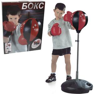 Игровой набор 1Toy Для бокса, груша, база 32см, стойка 80-100см (Т59876)
