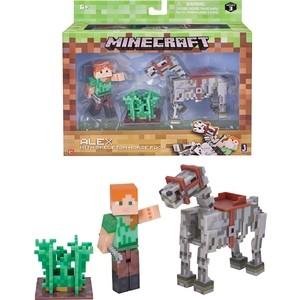 Игровой набор Minecraft Алекс с скелетом лошади (Т59993)