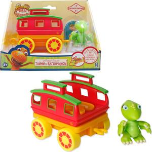 Игровой набор Поезд Динозавров Тайни 8 см с вагончиком (Т59400)