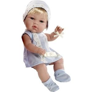 Кукла Arias ELEGANCE пупс блонд.винил.в голуб.платьице со стразами Swarowski ,33см,кор. (Т59286)