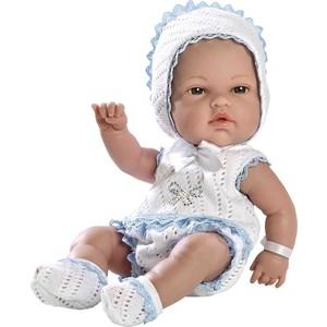 Кукла Arias ELEGANCE пупс винил.в бело-голуб.костюмчике со стразами Swarowski ,33см,кор. (Т59283)