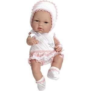 Кукла Arias ELEGANCE пупс винил.в бело-роз.костюмчике со стразами Swarowski ,33см,кор. (Т59282)