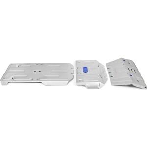 Купить Защита радиатора, картера, КПП и РК Rival для Lexus GX 460 (2009-2013 / 2013-н.в.) / Toyota LC 150 Prado (2009-2013 / 2013-н.в.), алюминий 4мм, K333.9516.1