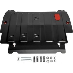 Купить Защита картера и КПП АвтоБРОНЯ для Infiniti JX35 (2012-2013), QX60 (2013-н.в.) / Nissan Murano (2016-н.в.), Pathfinder (2014-2017), сталь 2 мм, 111.02415.2