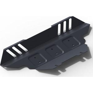 Купить Защита радиатора АвтоБРОНЯ для SsangYong Actyon (2007-2011), Actyon Sport (2012-н.в.), Nomad (2013-н.в.), сталь 2 мм, 1.05306.1