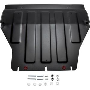 Купить Защита картера и КПП АвтоБРОНЯ для VW Caravelle (2003-н.в.), Multivan (2003-н.в.), Transporter (2003-н.в.), сталь 2 мм, 111.05806.1