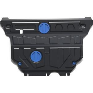 Купить Защита картера и КПП Rival для Audi A3 (2012-н.в.) / Skoda Superb (2015-н.в.) / VW Golf (2013-н.в.), VW Passat (2015-н.в.), сталь 2 мм, 111.0322.1