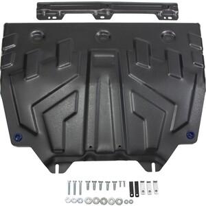 Купить Защита картера и КПП Rival для Mazda 3 (2013-н.в.), 6 (2012-2015 / 2015-н.в.), CX-5 (2011-2017 / 2017-н.в.), сталь 2 мм, 111.3817.1