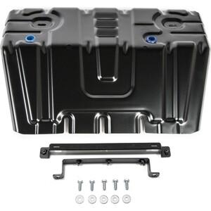 Купить Защита радиатора Rival для Lexus GX 460 (2009-2013 / 2013-н.в.) / Toyota LC 150 Prado (2009-2013 / 2013-2017 / 2017-н.в.), сталь 2 мм, 111.9516.1