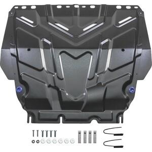 Купить Защита картера и КПП Rival для Ford C-Max (2003-2010), Focus (2005-н.в.), Grand C-Max (2010-2015), Kuga (2008-2013), сталь 2 мм, 111.1850.1