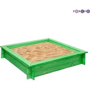 Песочница PAREMO деревянная Клио Зеленый PS117-01