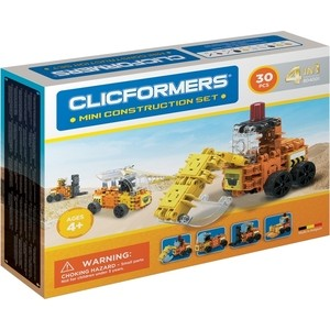 Конструктор CLICFORMERS Construction set mini 30 деталей (804001)