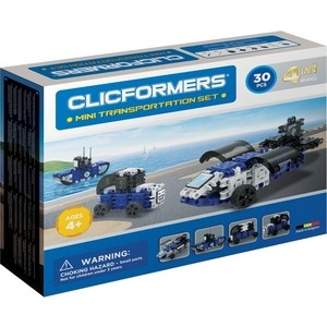 Конструктор CLICFORMERS Transportation set mini 30 деталей (804002)